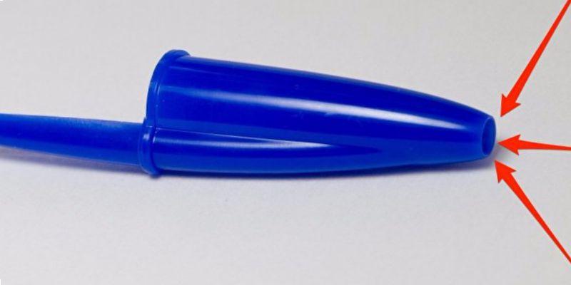 Как сделать колпачок для ручки 562