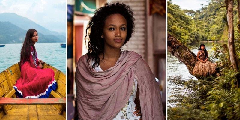 Атлас женской красоты в Фото всего мира