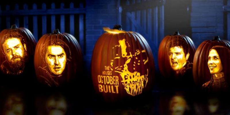 Художества на тыквах для Хэллоуина