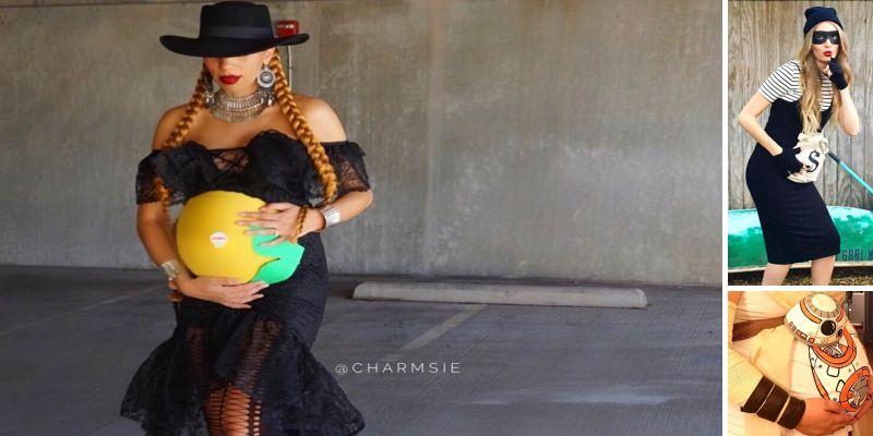 20 оригинальных костюмов на Хэллоуин для беременных