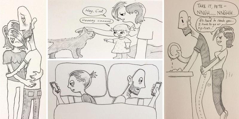 комиксы совместной жизни