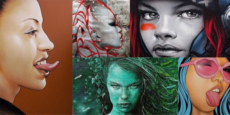 уличный художник Alex Mac 3hc