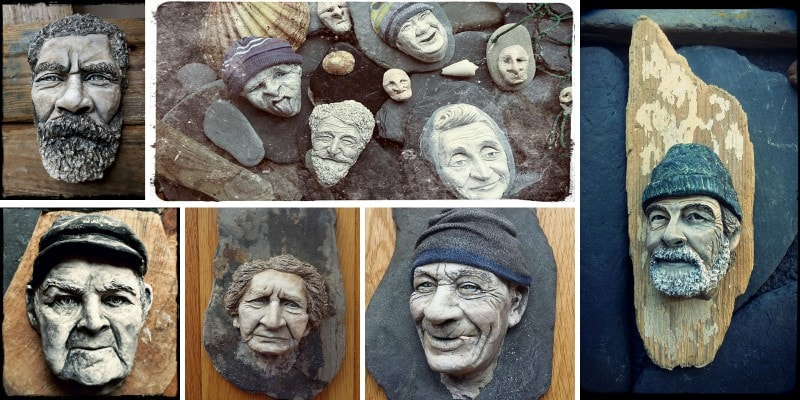 Застывшие лица ирландских рыбаков