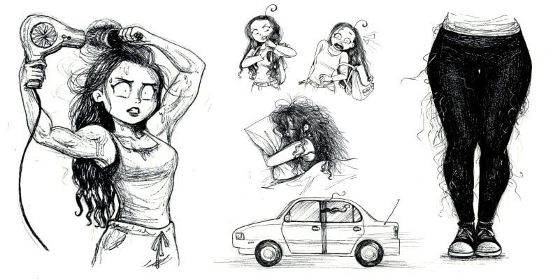 9 фактов проблемы у девушек с длинными волосами