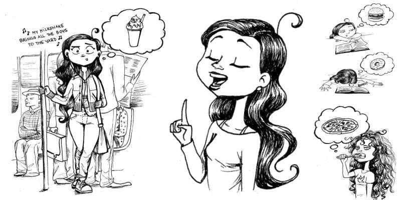 Первые занятия йогой в 6 комических иллюстрациях