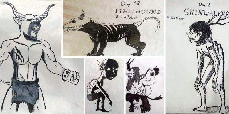 Различные монстры из различных легенд