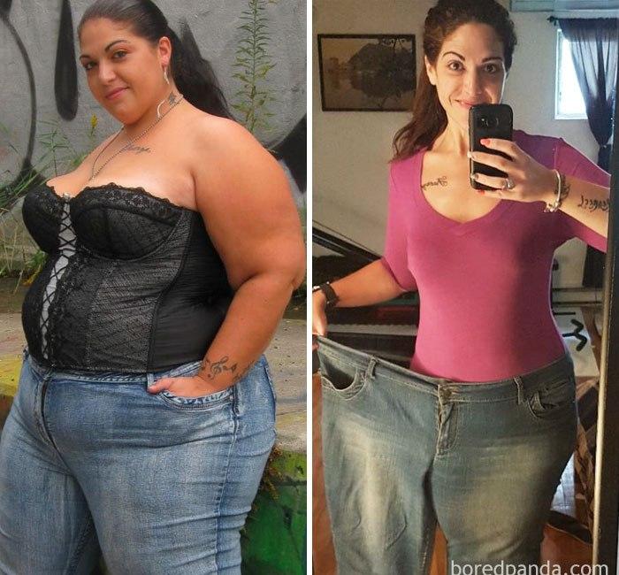 [BBBKEYWORD]. Люди, которым удалось похудеть (27 фото)