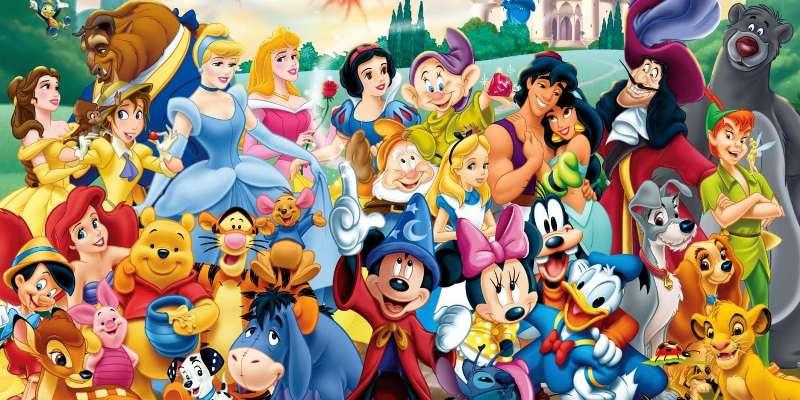 Тест: Угадай имена героев мультфильмов Disney