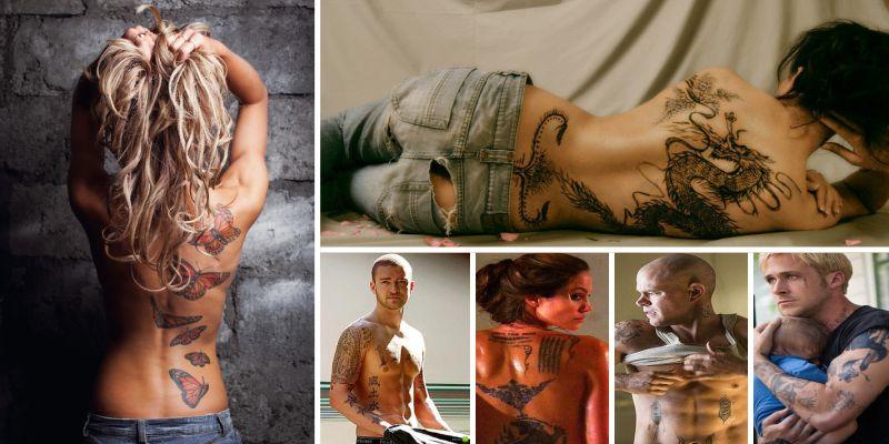 тест: Угадай киноактера по его татуировке