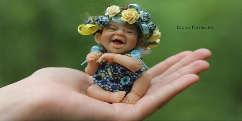 Топ 10 реалистичных кукол от Елены Кириленко