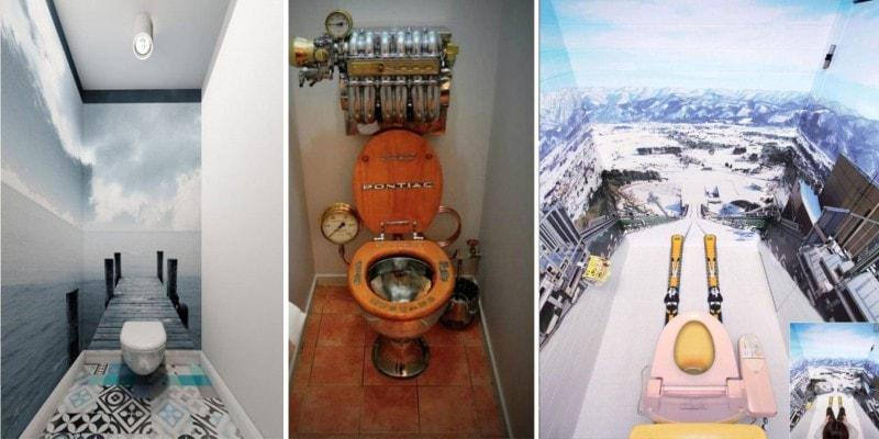 В таких туалетах захочется задержаться или дизайн туалетных комнат