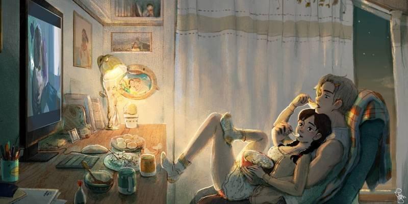 8 иллюстраций искренней любви и гармонии