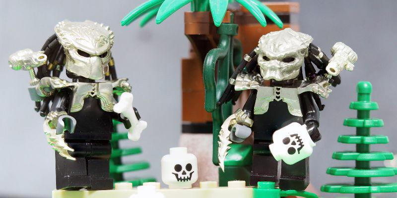 фигурки Лего из металла