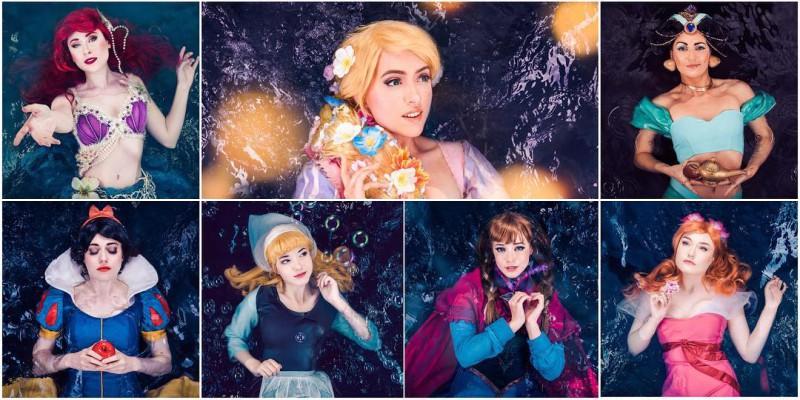 косплей на принцесс Дисней