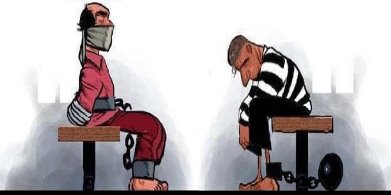 забавные иллюстрации про преступников
