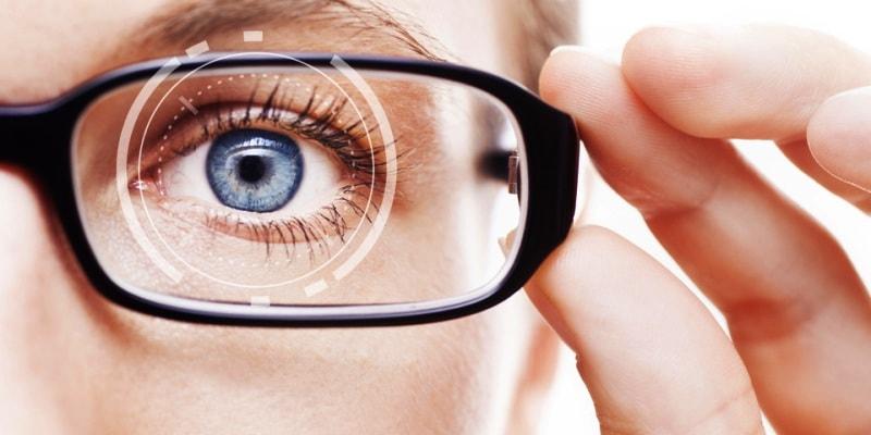 тест проверки зрения