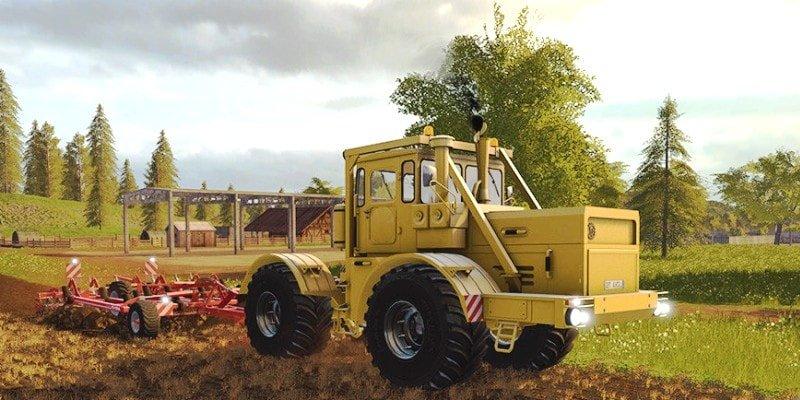 Тест трактора СССР
