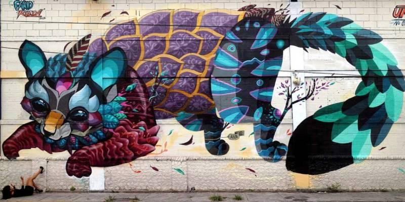 уличный художник Фарид Руэда
